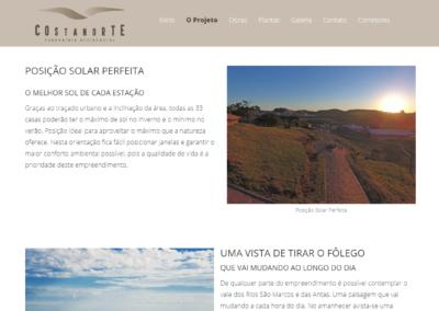 Site Condomínio Costa Norte Flores da Cunha